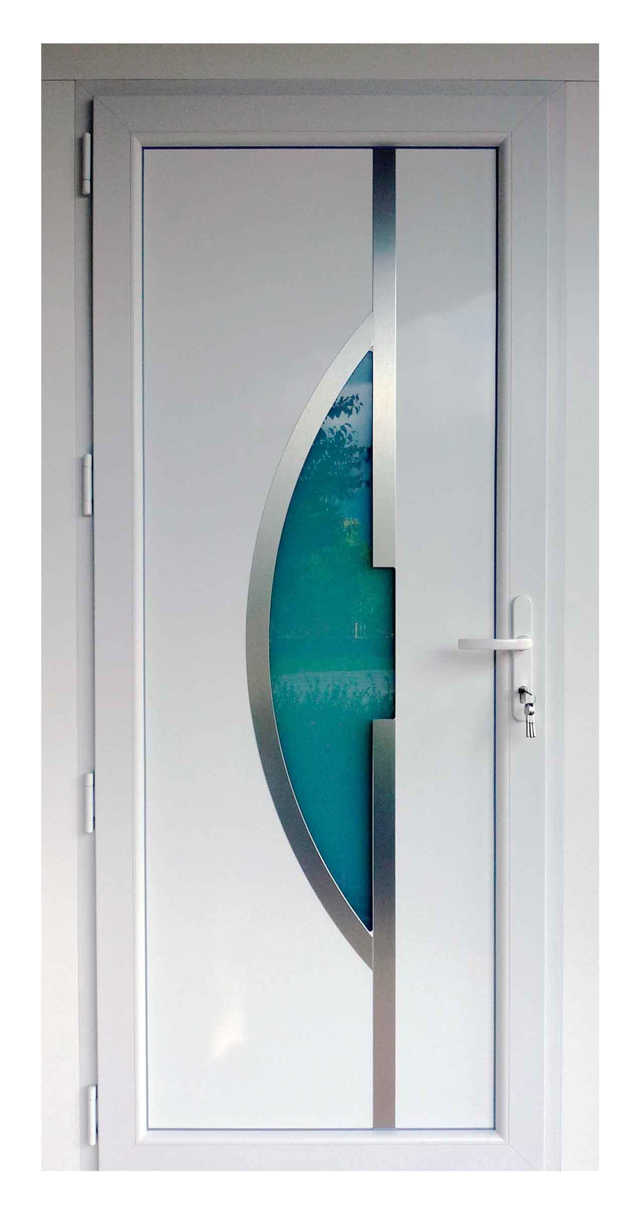 Porte d'entrée en PVC (2)