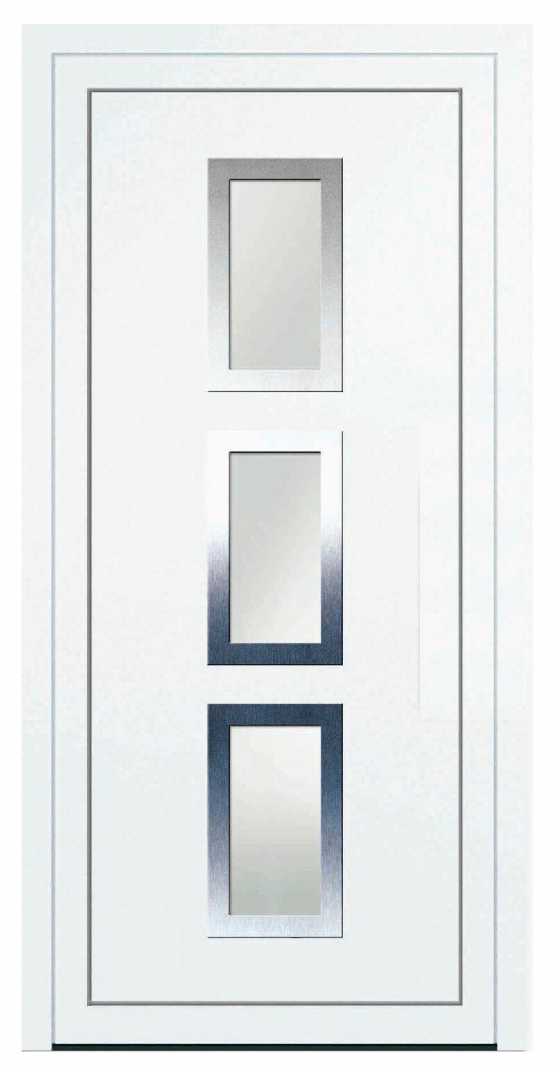 Porte d'entrée en PVC (4)