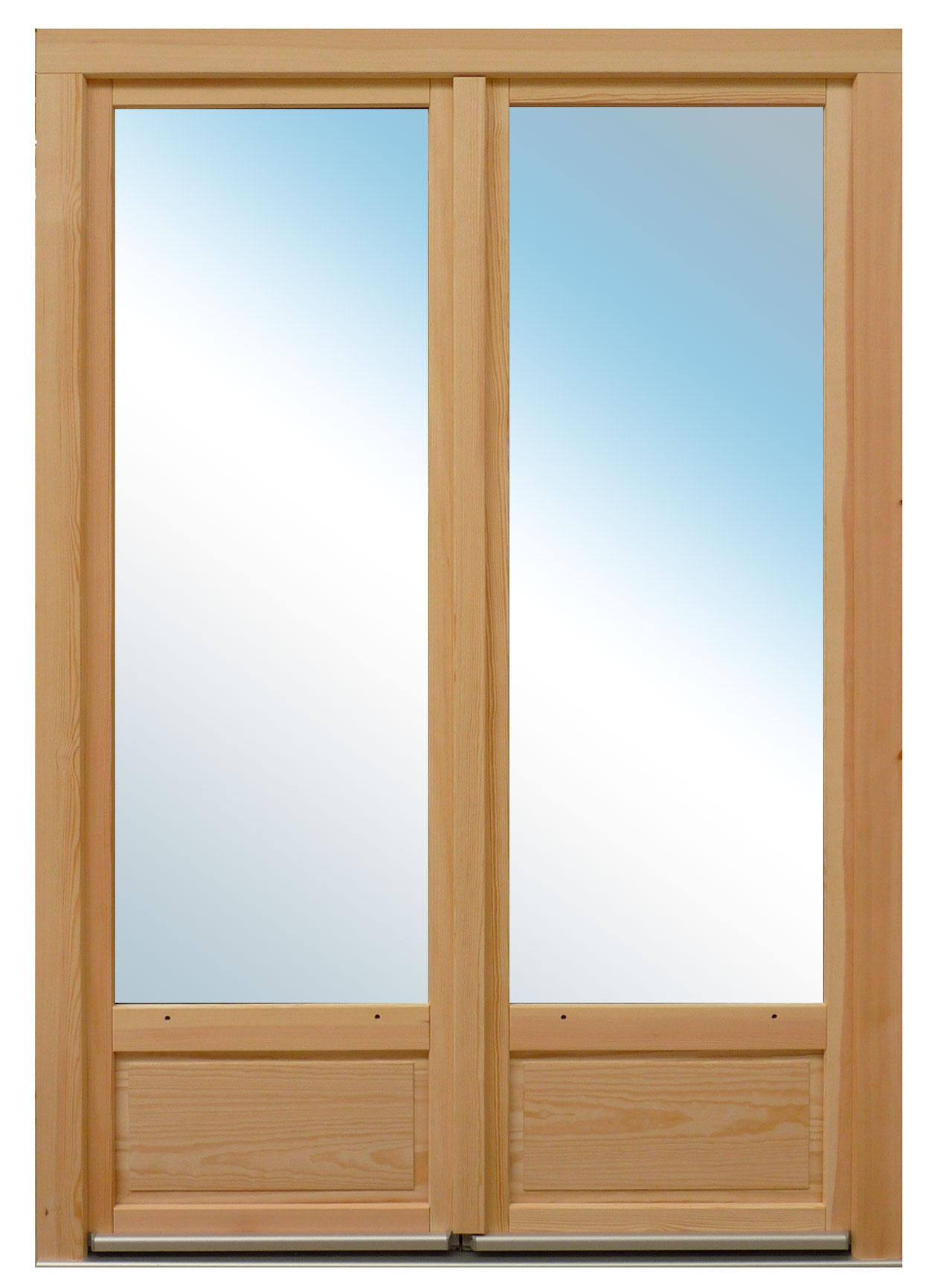 Portes Fenêtres Bois Ouverture à La Française Cim Porraz