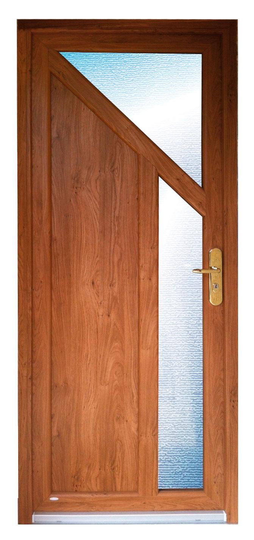Porte d'entrée en PVC (3)