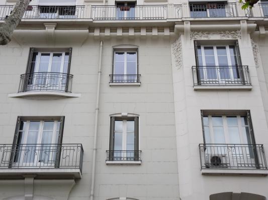 Porte fenêtre PVC ouverture à la française