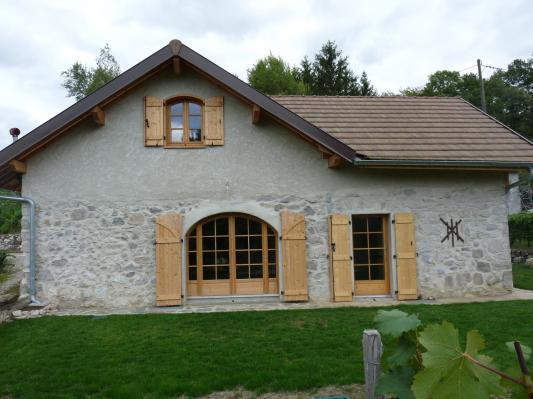 Porte fenêtre sur mesure – Savoie