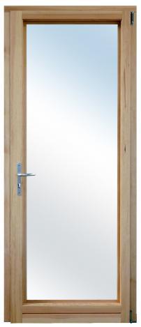 Porte fenêtre Bois ouverture à la française