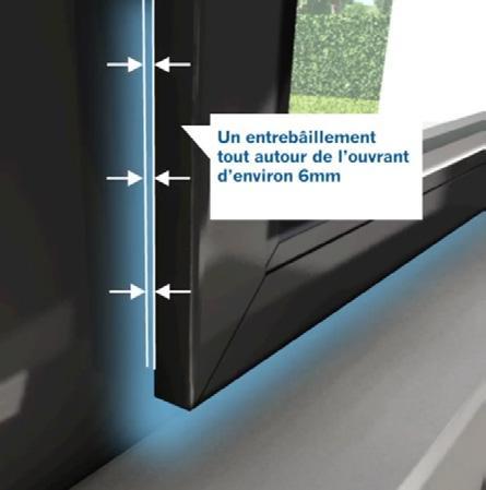 Porte-Fenêtre à ouverture parallèle