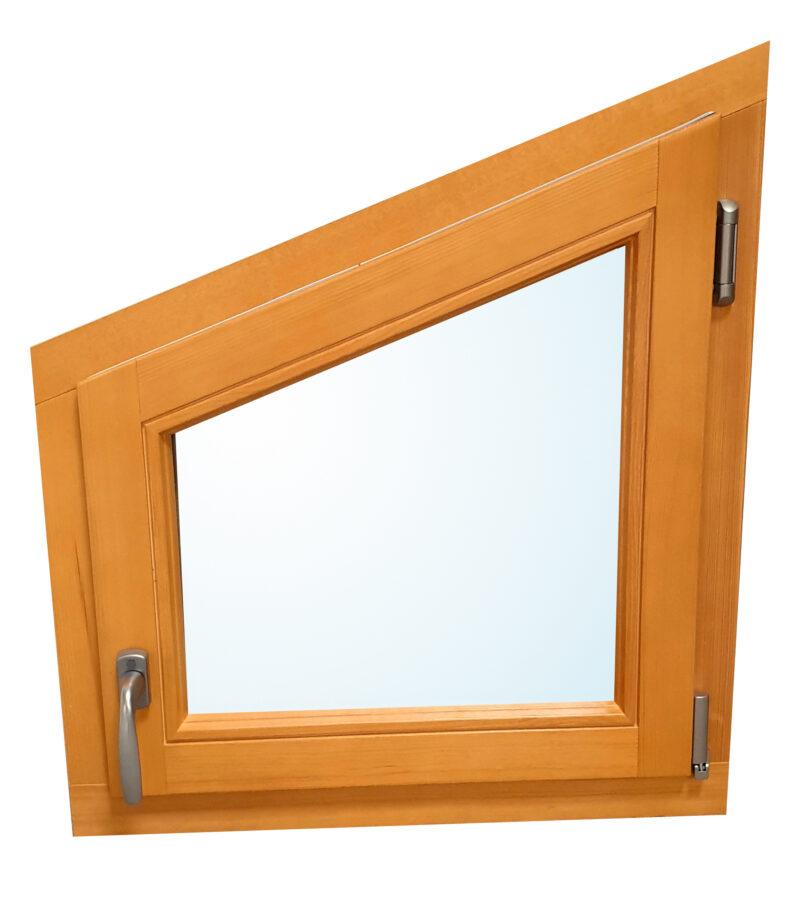 Fenêtre trapèze bois